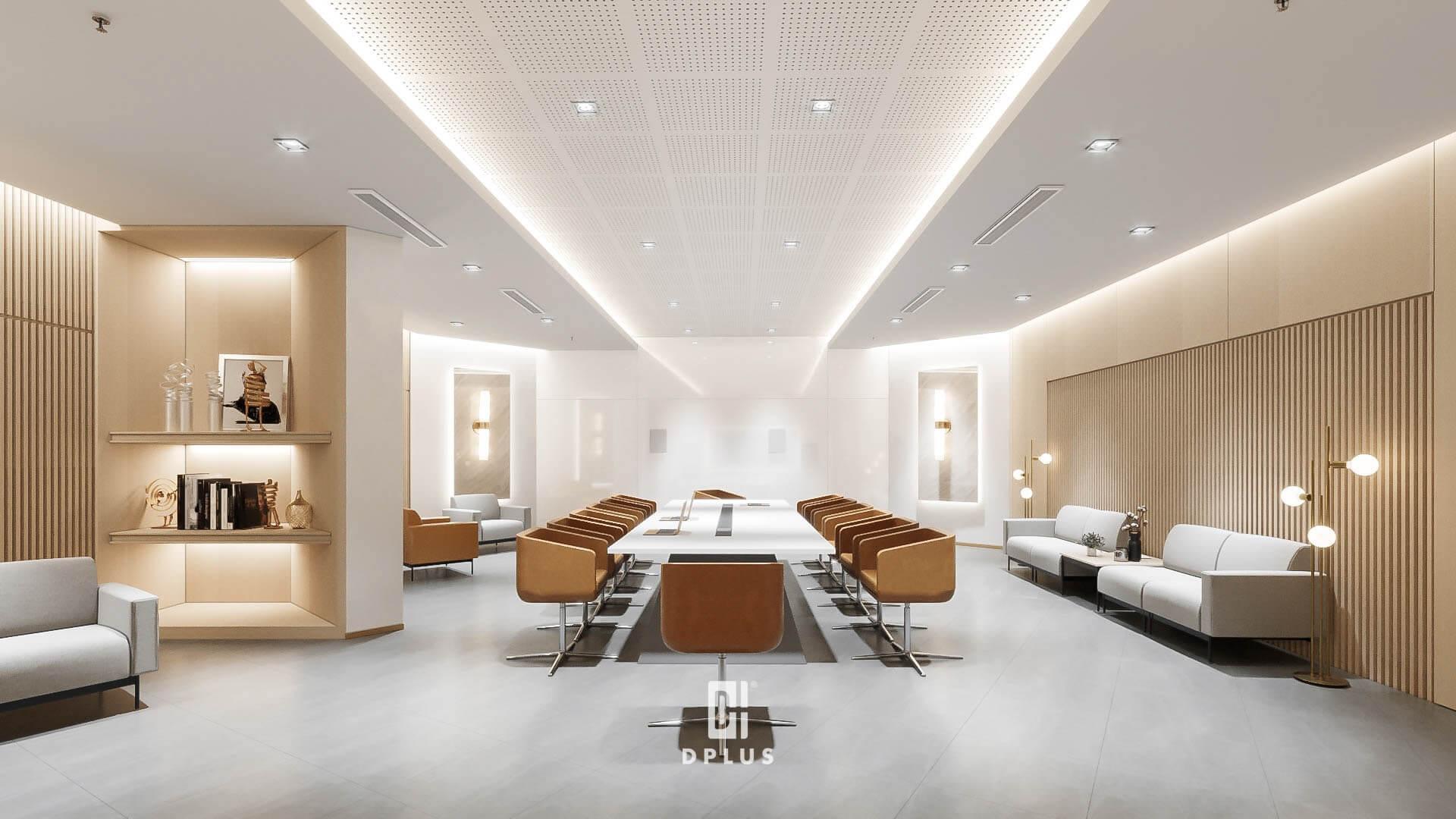 Báo giá thiết kế nội thất văn phòng sẽ tỉ lệ thuận với chất lượng nội thất