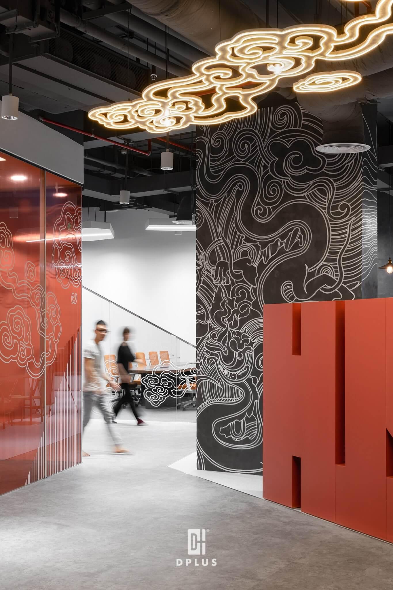 Ứng dụng phong cách đương đại trong thiết kế văn phòng