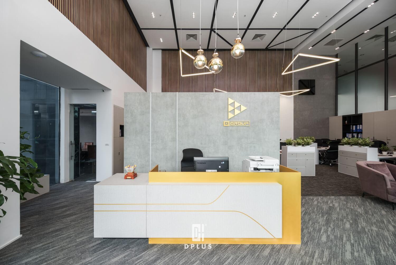 Các chi tiết được thiết kế phù hợp trong quá trình tư vấn thiết kế văn phòng