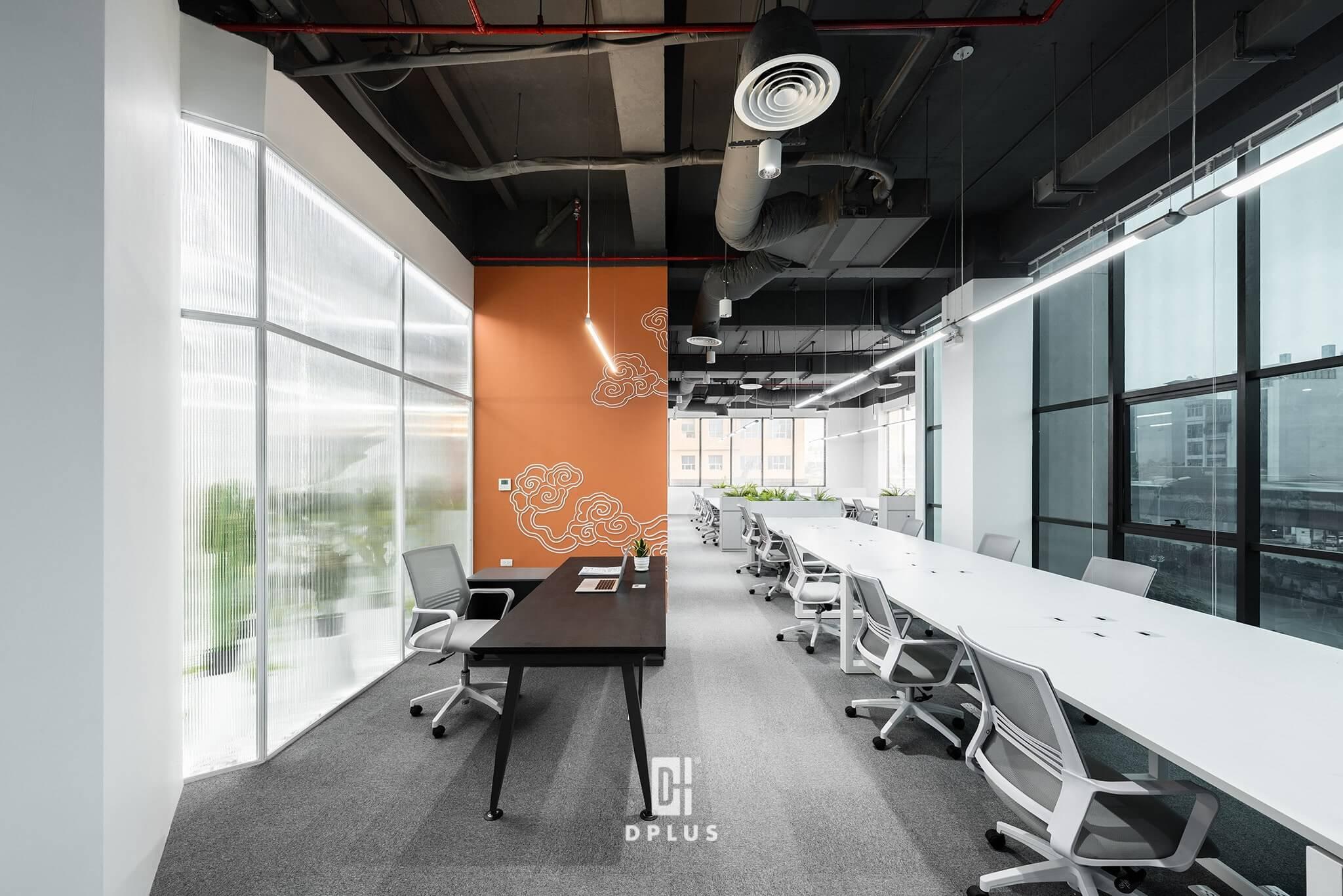 Không gian làm việc mở phù hợp với văn hóa transparency