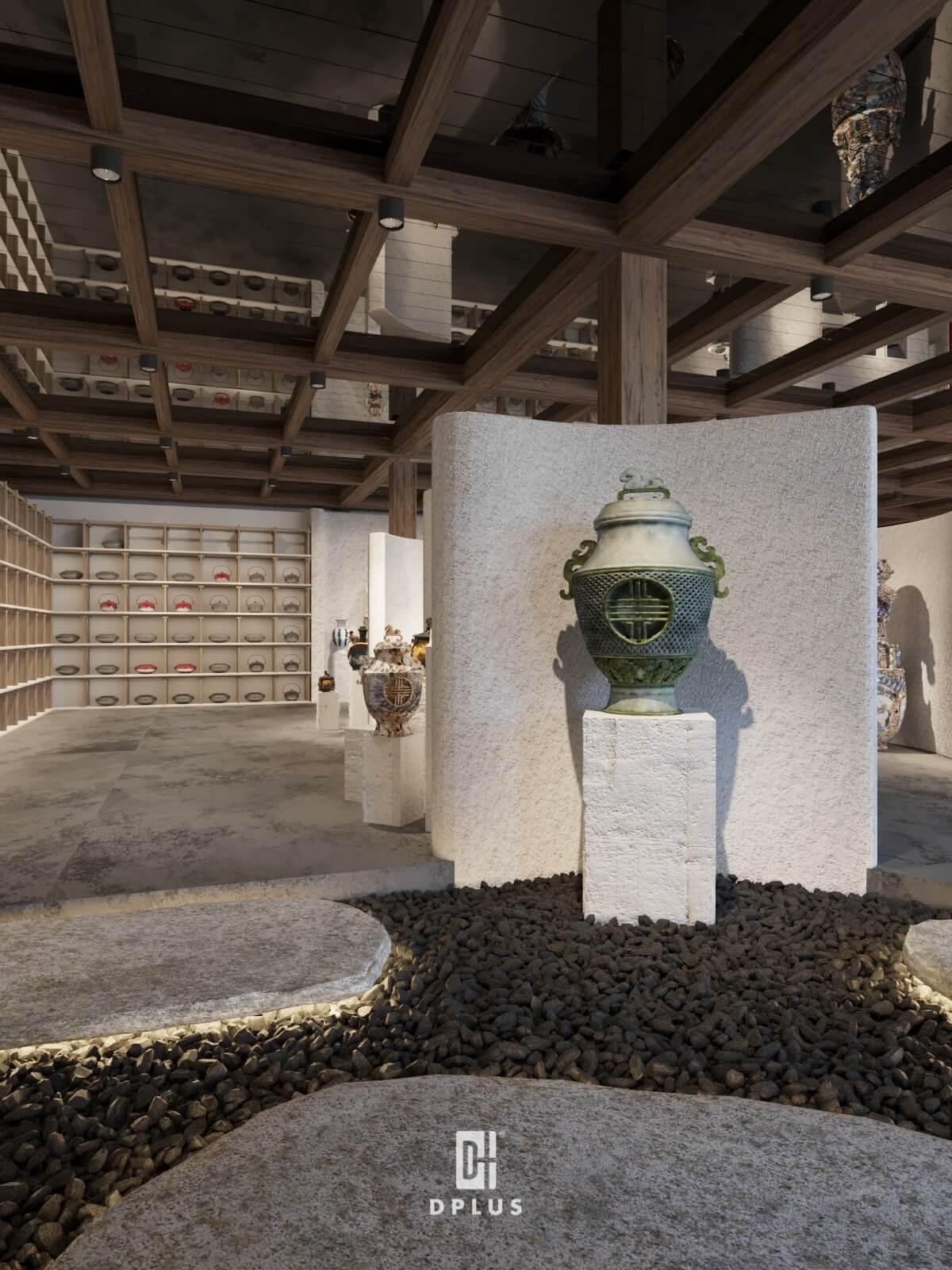 Tính đương đại trong thiết kế không gian trưng bày của Vạn An Lộc