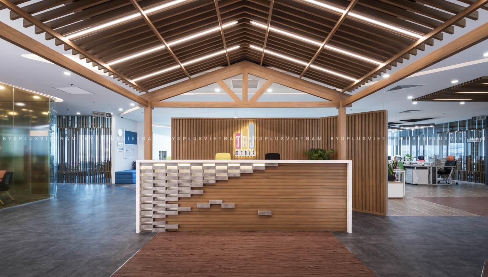 Thiết kế nội thất văn phòng chuyên nghiệp có thể gây ấn tượng tốt với khách hàng