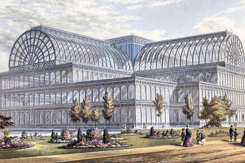 Crystal palace - công trình kiến trúc đầu tiên đánh dấu cho bước ngoặt phát triển của phong cách thiết kế hiện đại