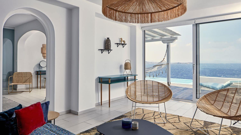 Màu xanh ngọc trong thiết kế nội thất Địa Trung Hải