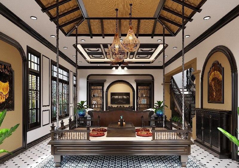 Phong cách thiết kế Đông Dương