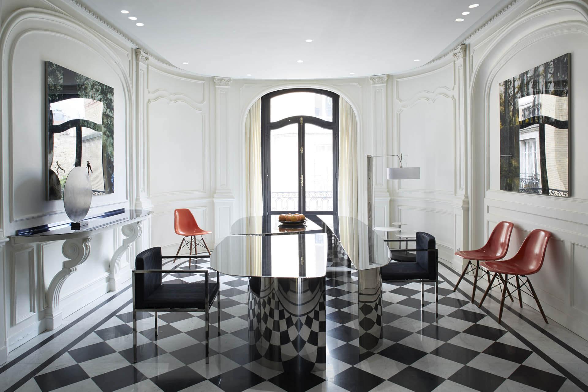 Phong cách thiết kế nội thất Parian