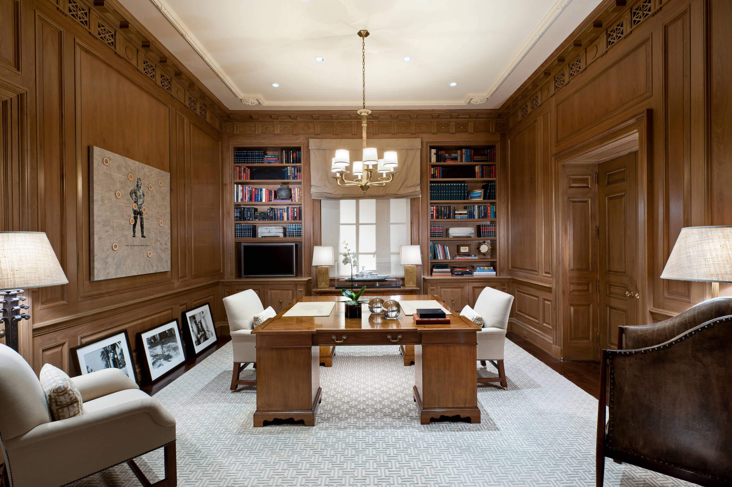 phong cách thiết kế nội thất truyền thống